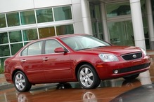 2007 Kia Optima LX LX 4dr Sedan (2.4L I4 5A)  NC